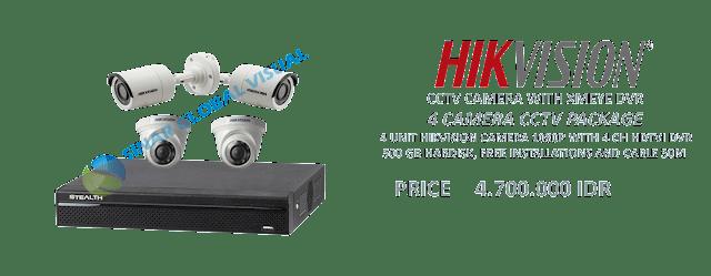 harga paket 4 kamera cctv murah
