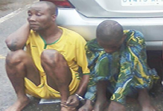 armed robber oshodi trader lagos