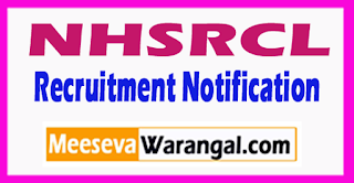 NHSRCL National High Speed Rail Corporation Limited Recruitment Notification 2017 Last Date 17-07-2017