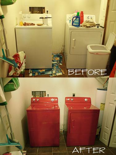casa de fifia blog de decora o como pintar uma m quina de lavar roupa. Black Bedroom Furniture Sets. Home Design Ideas