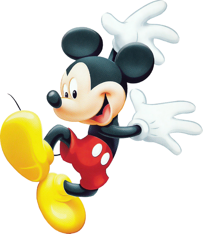 Micky Mouse No Color