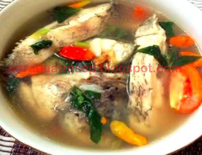 Foto Resep Sup Ikan Gurame Sederhana Spesial Gurih Asli Enak