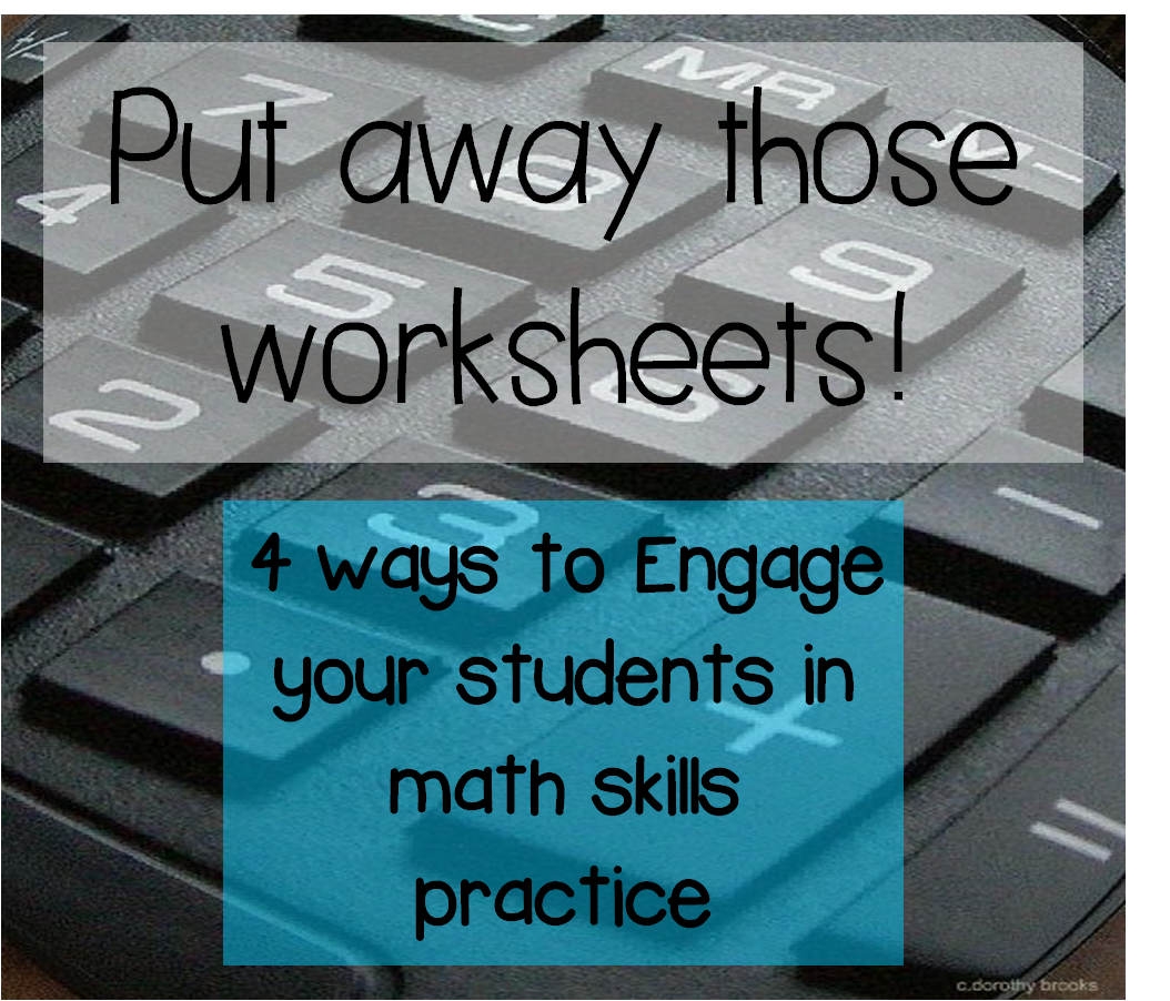 Teachnc 4 Engaging Ways To Practice Math Without Worksheets