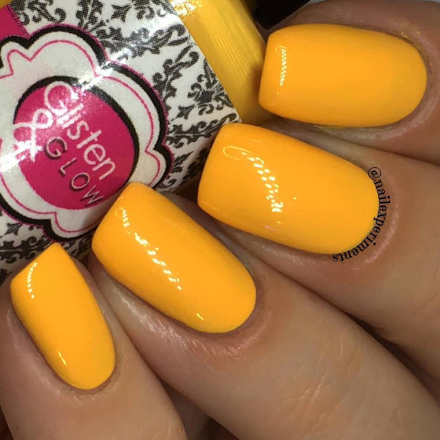 Glisten & glow polish in great balancing act