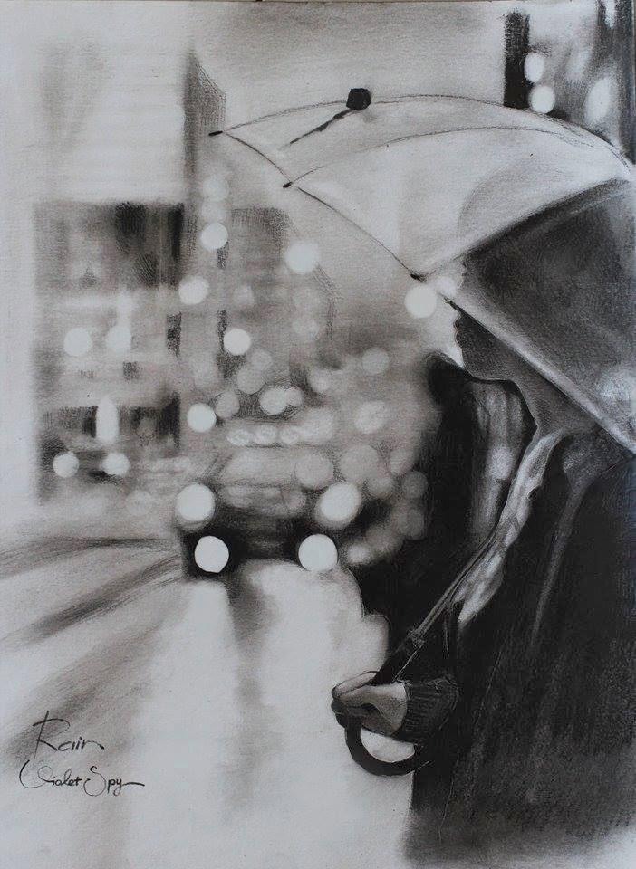 Sad Eyes Girl Wallpaper Sketches And Illistrator Of Rain It S Zizing Zizing