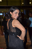 Wamiqa Gabbi in a sleeveless Black Designer Transparent Gown at 64th Jio Filmfare Awards South ~  Exclusive 063.JPG