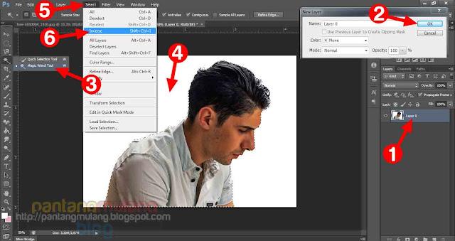 Cara Mudah Membuat Efek Double Exposure di Photoshop
