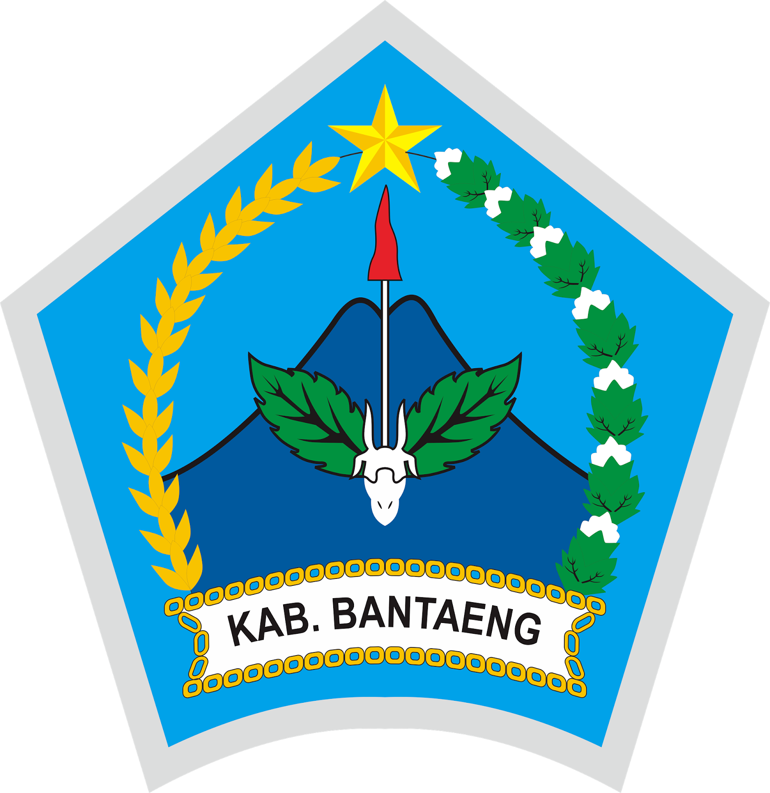 Logo Kabupaten Bantaeng Dan Maknanya Vector File Cdr Coreldraw Logo Vector