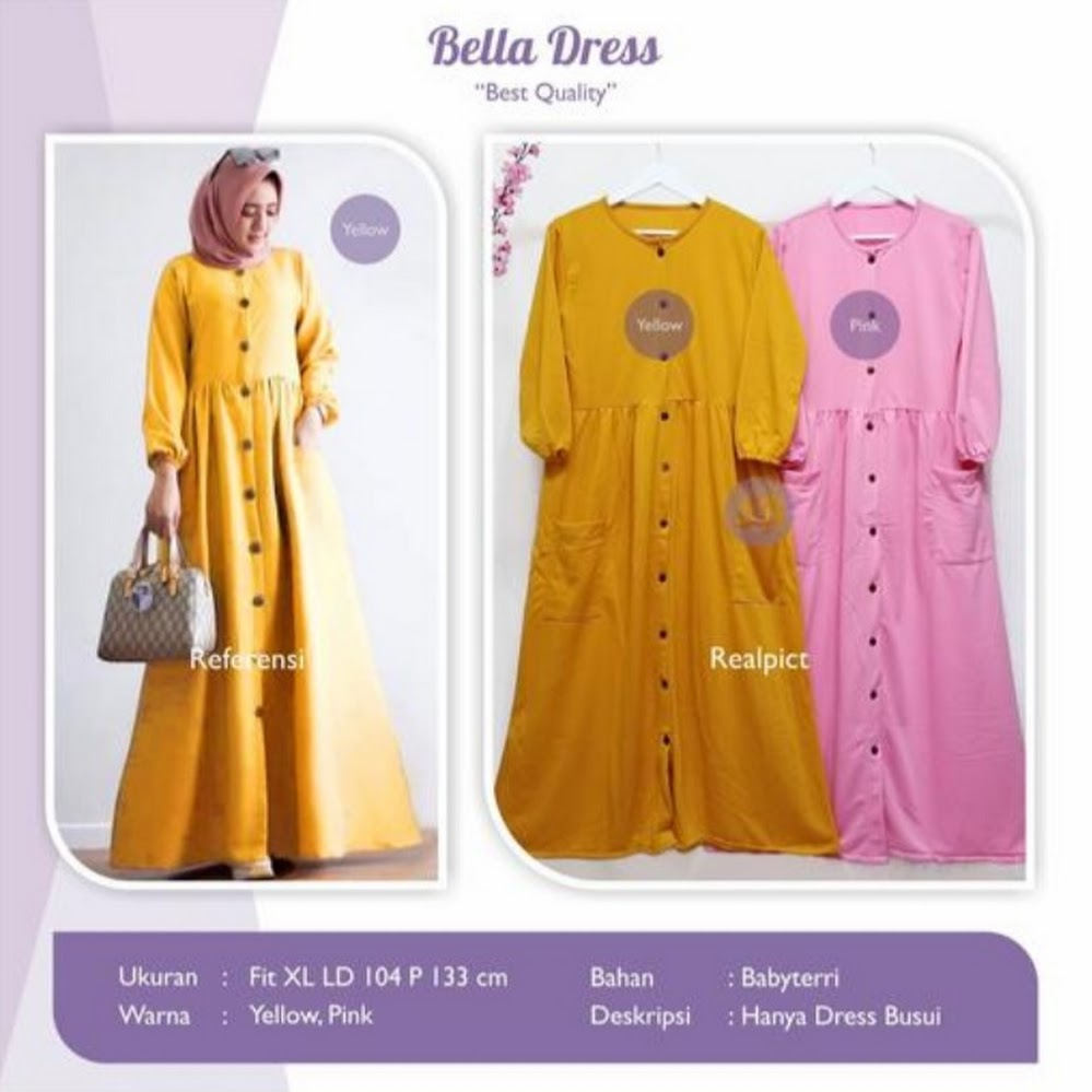 jual bella dress