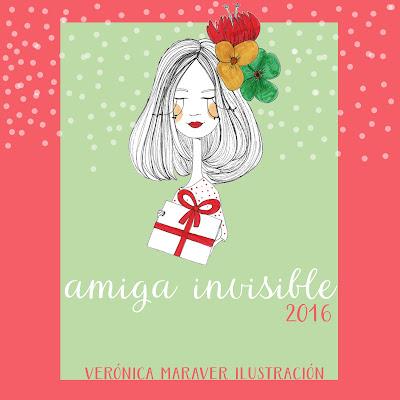 Amiga Invisible 2016 de Verónica Maraver