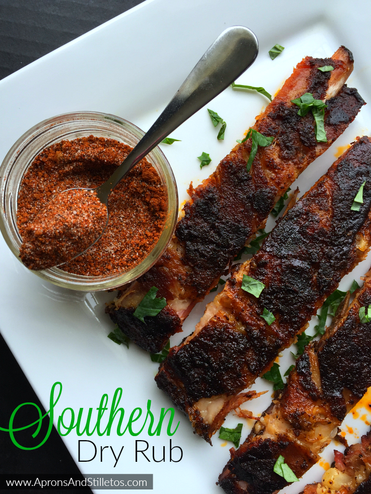 Southern Dry Rub for Perfectly Grilled Ribs