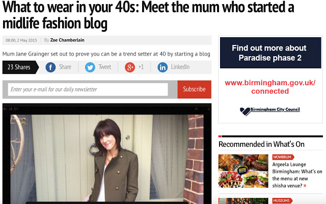 My Midlife Fashion Birmingham Mail