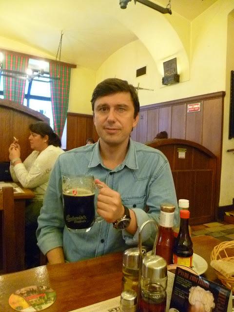 Прага. Обед (или ужин...)