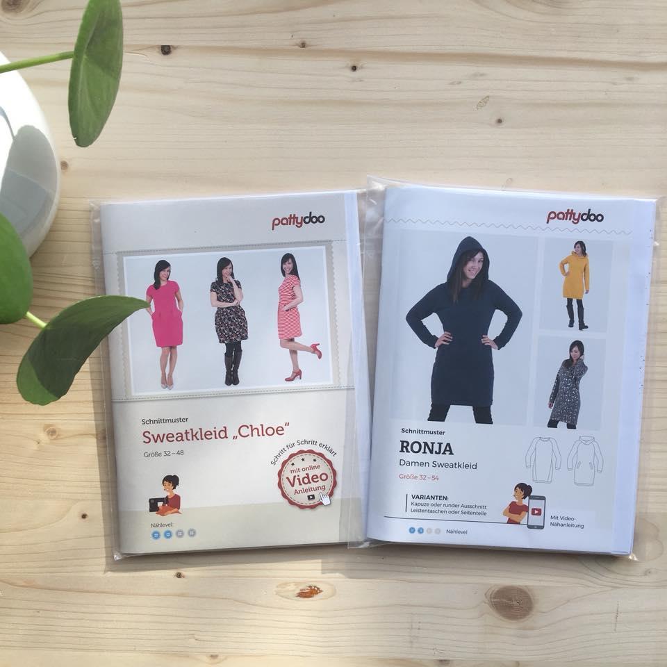 Tante Hilde: Neue Papierschnittmuster von Pattydoo