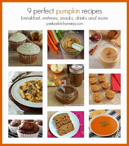 9 Perfect Pumpkin Recipes Yankee Kitchen Ninja