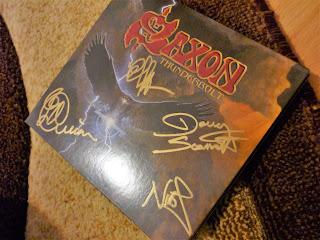 ultimul album Saxon, Thunderbolt, semnat de membrii trupei