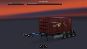 Container Caru Trailer