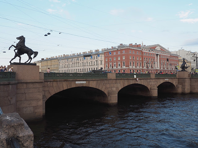 Санкт-Петербург - Аничков мост (St. Petersburg - Anichkov Bridge)