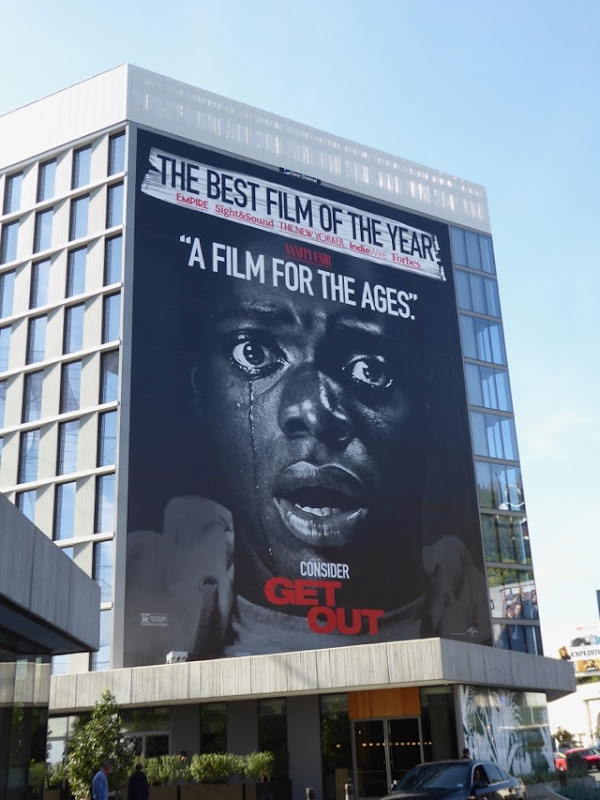 Giant Get Out A film for the ages billboard