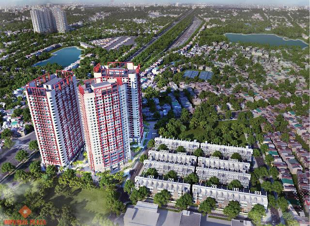 Ra mắt tòa IP3 chung cư Imperial Plaza