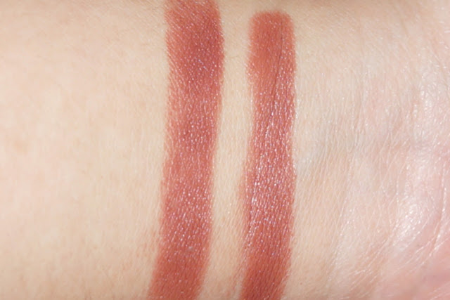 MAC Lipstick in Taupe swatch