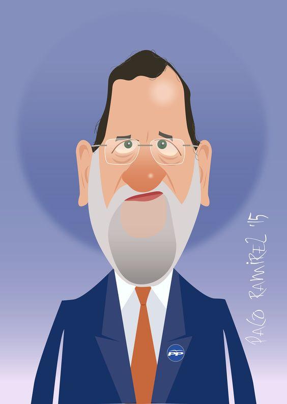Mariano Rajoy por Paco Ramírez