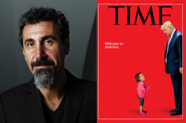 """Es hora de una """"revolución pacífica al estilo de Armenia"""" Serj Tankian"""