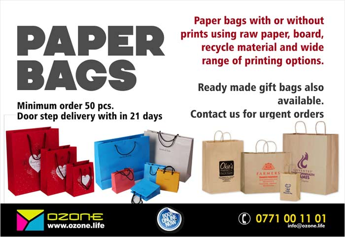 Wide Range of Paper Bags ( Gift Bags and Shopping Bags )