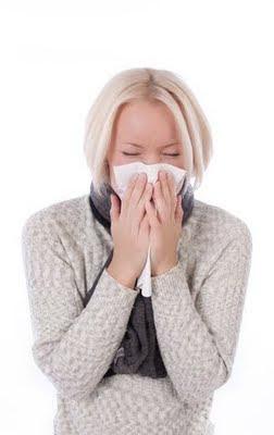 allergia - starnuti