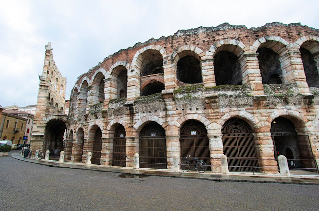 Piazza Bra ed Arena di Verona