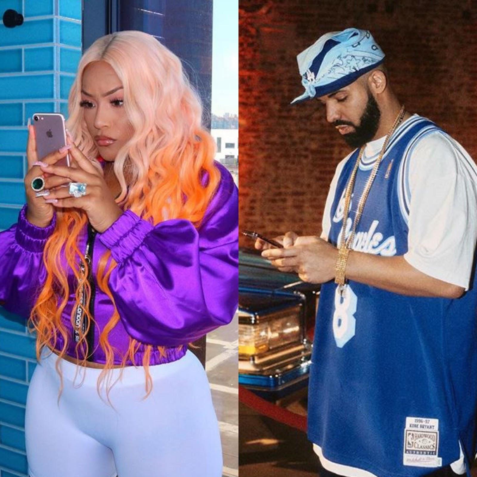 Drake Flirts With Rapper Stefflon Don On Instagram After Her