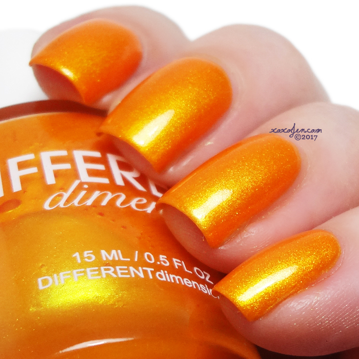 xoxoJen's swatch of Different Dimension The Silence Of The Lambs