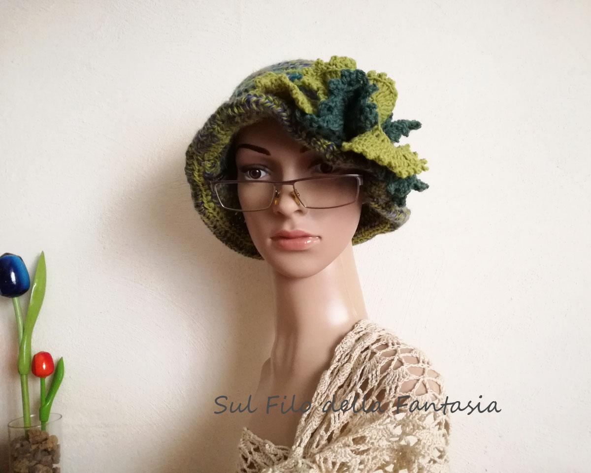Sul Filo Della Fantasia Cappello Cloche E Charming Mannequin