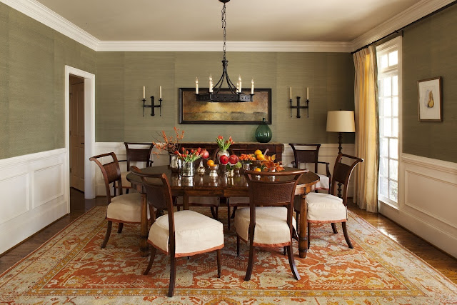 Classic accessories for dining room wall