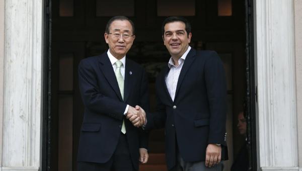 Ban Ki-moon agradece labor de Grecia en atención a refugiados