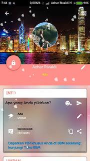 BBM Mod Love Story v3.0.1.25 Apk Terbaru