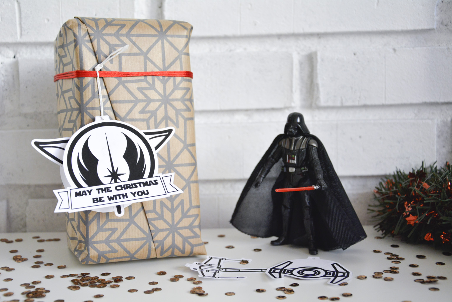 christmas gifts tags star wars