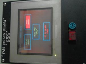 Bilges System Controls Monitor