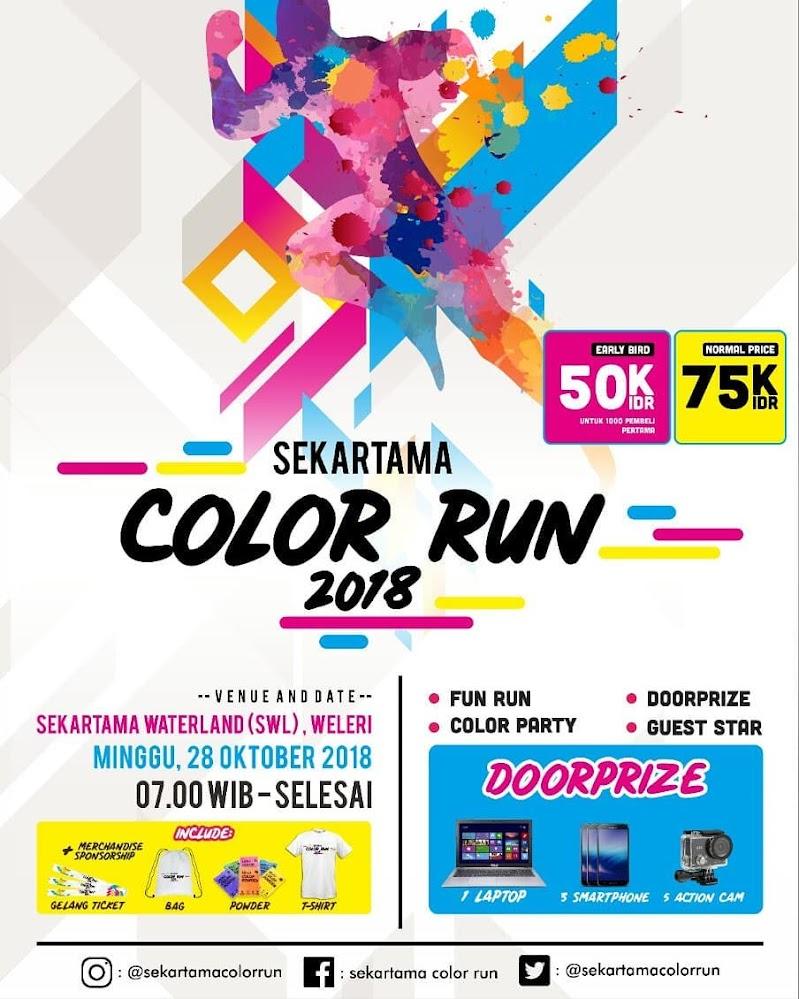 Sekartama Color Run • 2018