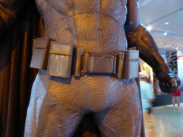 Batman v Superman grey Batsuit utility belt