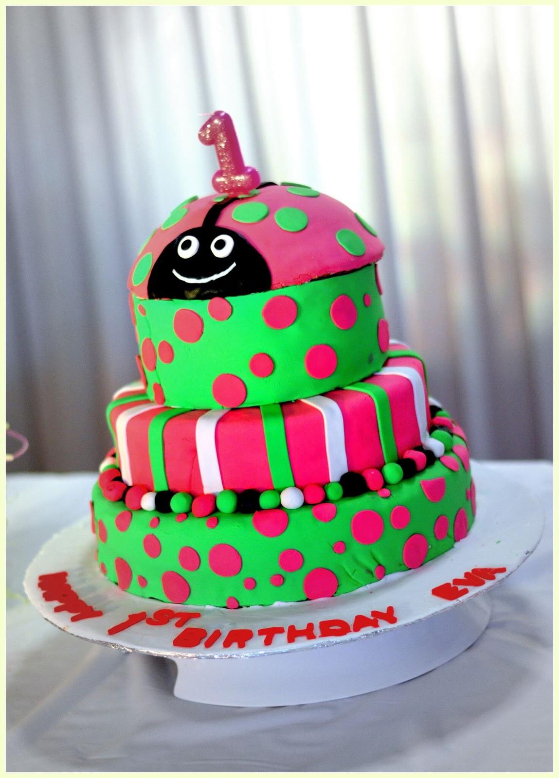 Swell Salt N Pepper Ladybug Birthday Cake Personalised Birthday Cards Veneteletsinfo