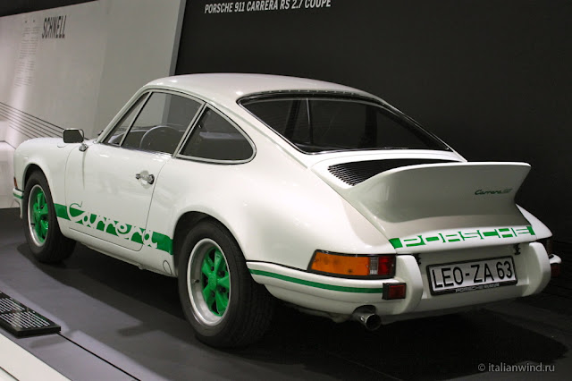 Porsche 911 Carrera RS 2.7 Coupe, 1973 г.