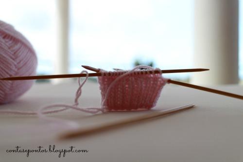 perneira em tricot