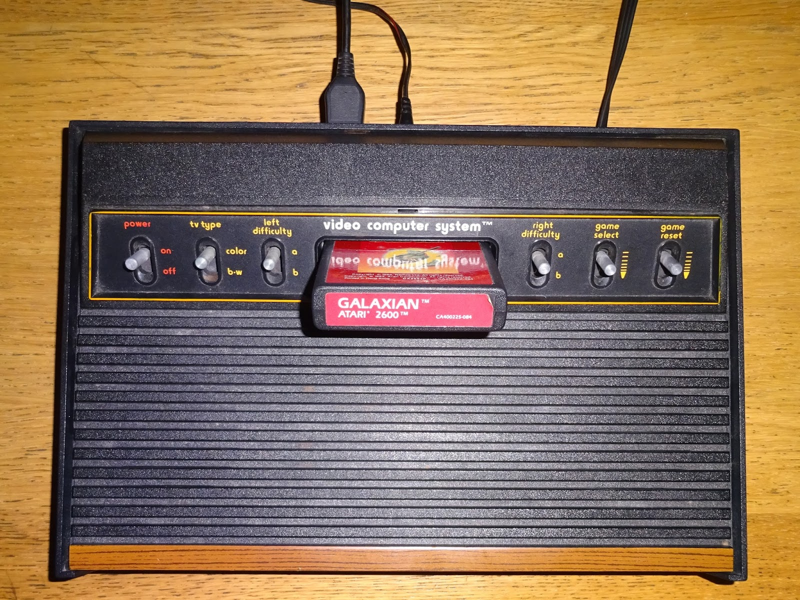 i have added composite video outputs to many atari 2600 vcs consoles and covered those in previous blog posts about the 2600 woody and 2600 jr  [ 1600 x 1200 Pixel ]