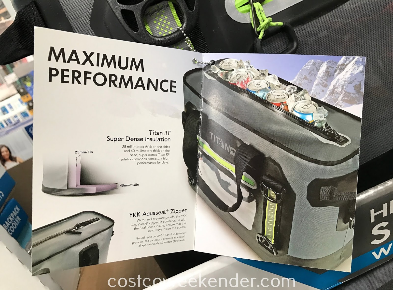 Titan RF Heavy Duty Super Cooler: great for picnics, camping, tailgating, the beach, etc