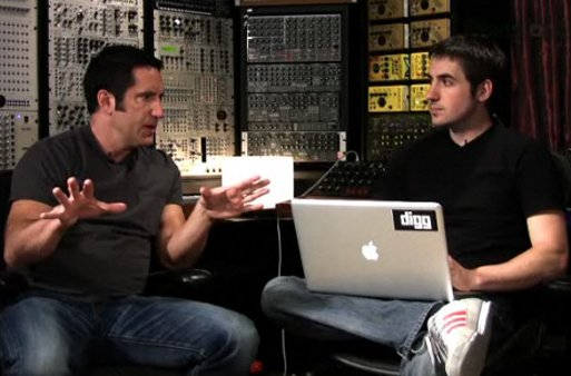Trent Reznor How to Start Artist Website