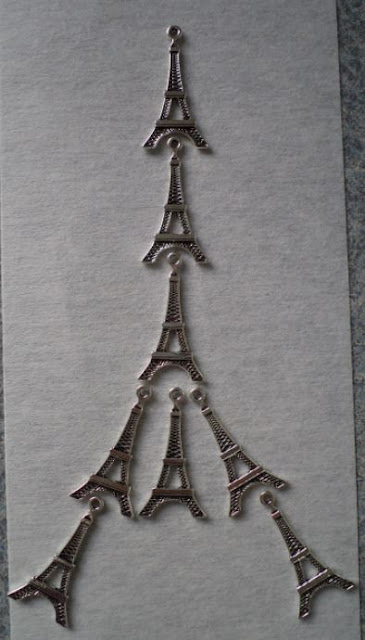 Eiffel Tower charms