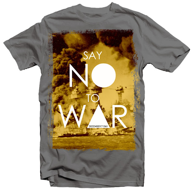 no war tshirt design