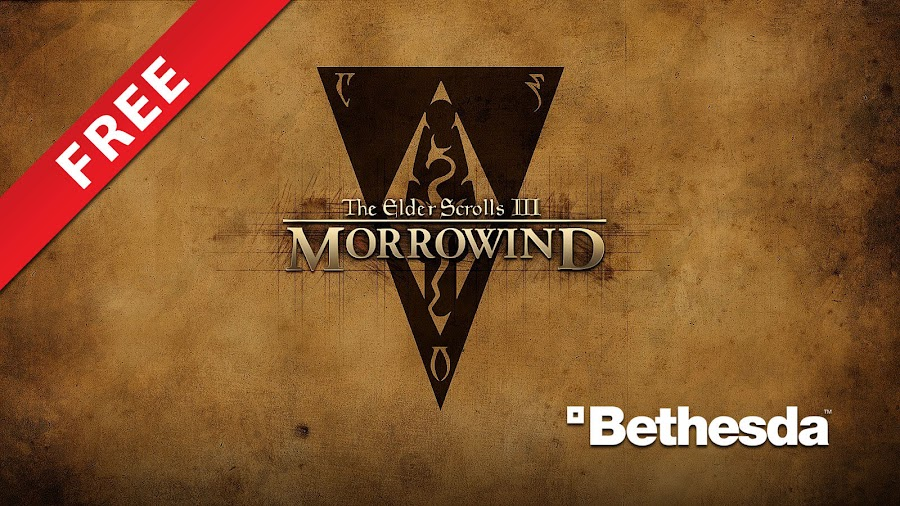 the elder scrolls 3 morrowind free pc game bethesda