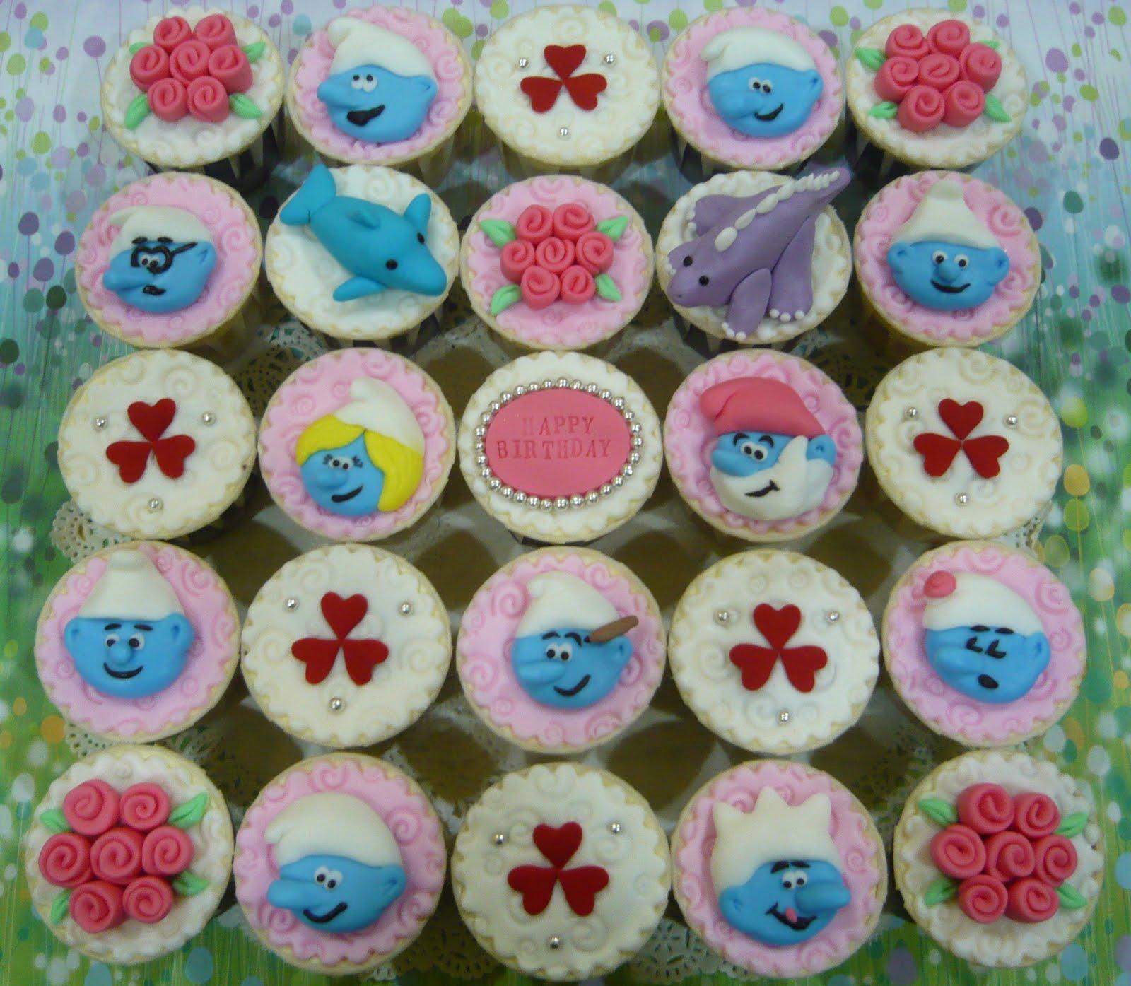 Jenn Cupcakes Amp Muffins Smurfs Cupcakes